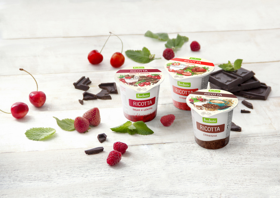 Bright innovation in Bonfesto desserts range