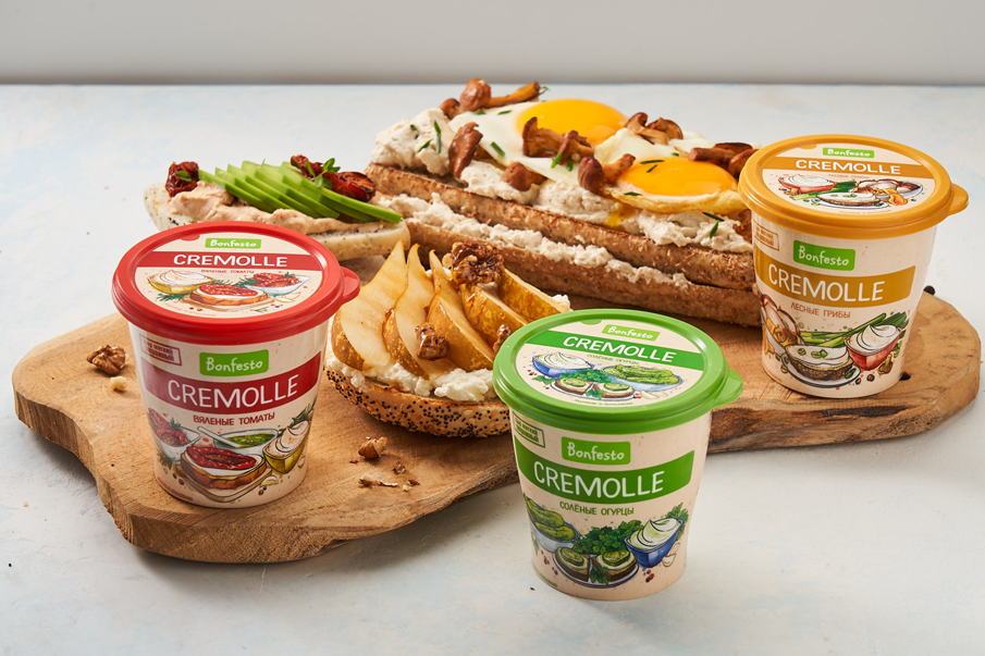 Product expansion of cheese Cremolle Bonfesto